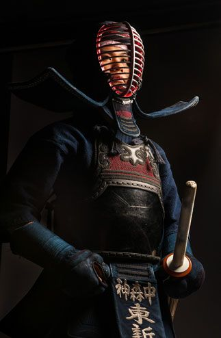 Kendo....reminds me of the Samurai films by Kurosawa...i do not know the difference from Kendo.