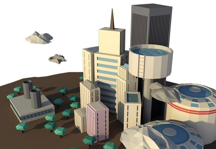The city #c4d #cinema4d #3d #cg #lowpoly #motiongraphics #animation #film #commercial #ad #photooftheday #sunday #sunshine #trip #roadtrip #travel #mountains #wild #sightseeing #relax #fresh #cloudporn #cloud #taxi #cartoon #car #illustration #doodle by kticorn