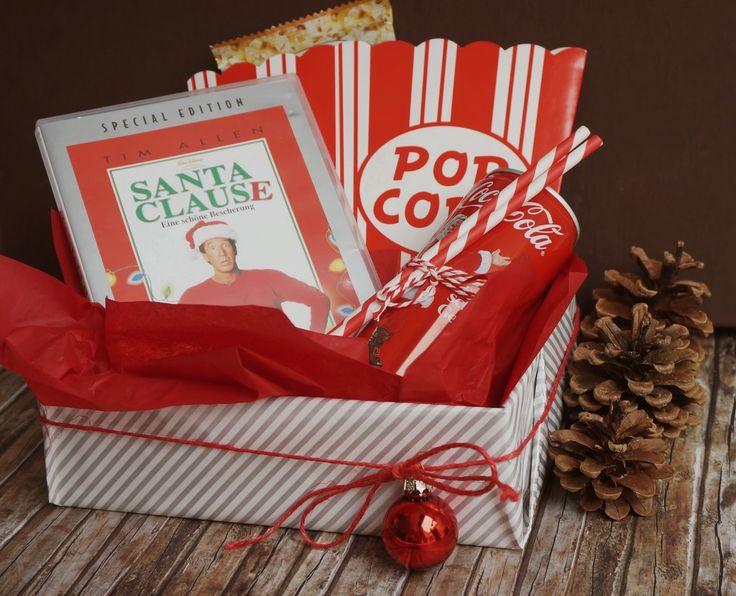 DIY DVD-Abend-Box Weihnachten