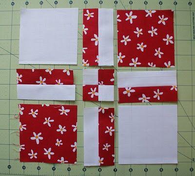 Aprenda mais um bloco em patchwork super fácil | Clubinho da Costura