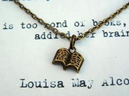 """She is too fond of books and it has addled her brain"" Louisa May Alcott"