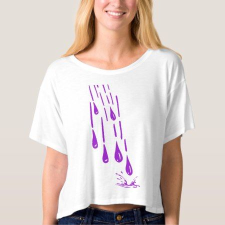 Purple Rain T-shirt - click/tap to personalize and buy