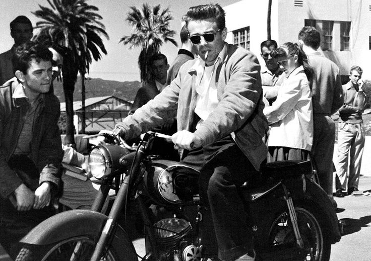 James Dean in the Saddle