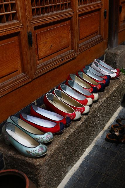 Korean traditional shoes
