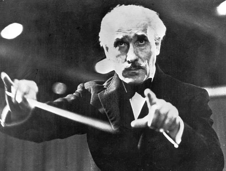 Arturo Toscanini (conductor) -- Dead. Died January 16, 1957. Born March 25, 1867. Longtime conductor of the NBC Symphony Orchestra, conducted the world premieres of Puccini's La Boheme and Barber's Adagio for Strings.