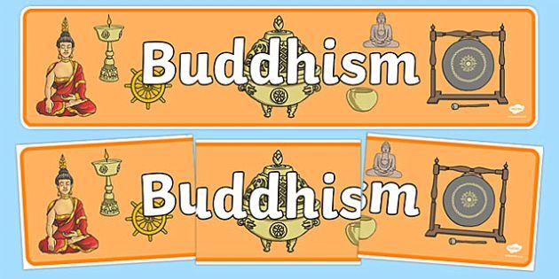 Buddhism Display Banner - Buddhism, religion, display, banner