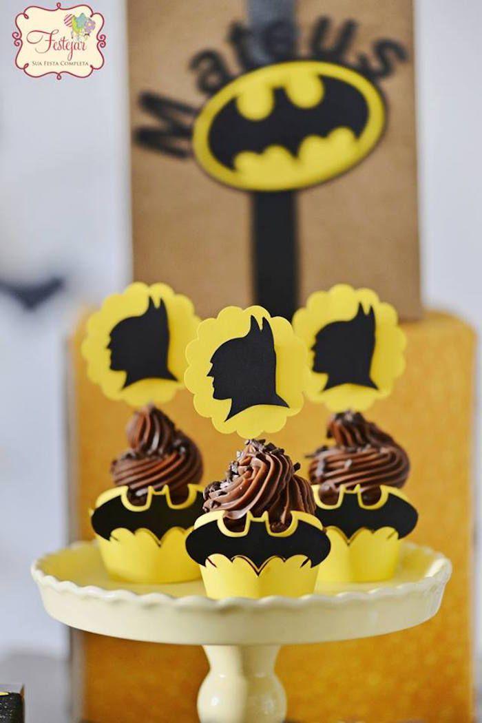 Batman Birthday Party via Kara's Party Ideas | KarasPartyIdeas.com (17)