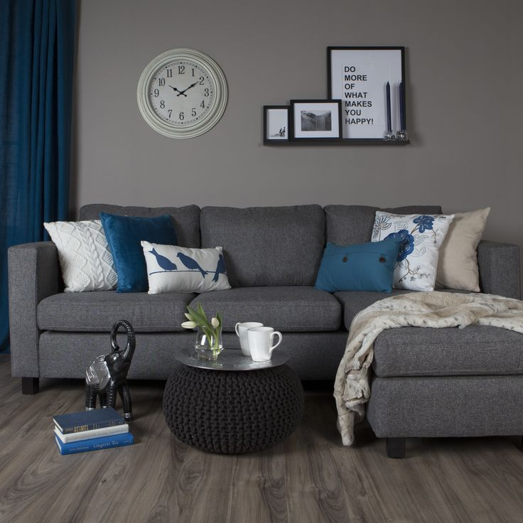 Adding deco cushions to the living room is an easy and affordable way to freshen up the living room