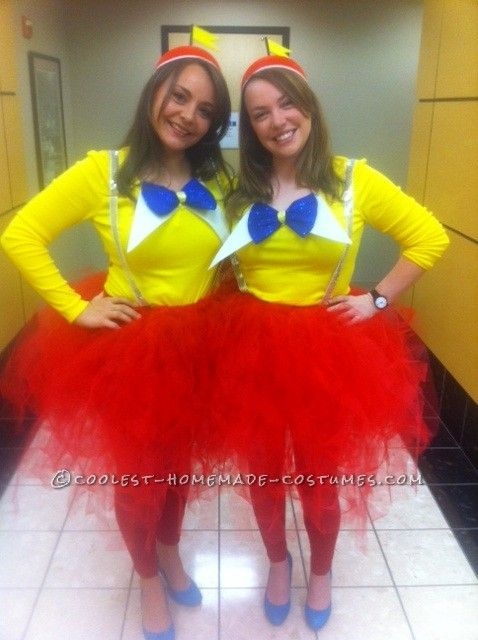 Cutest Tweedle Dee and Tweedle Dum Couple Halloween Costumes... This website is the Pinterest of costumes
