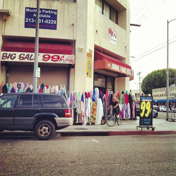 Garment District in Los Angeles, CA