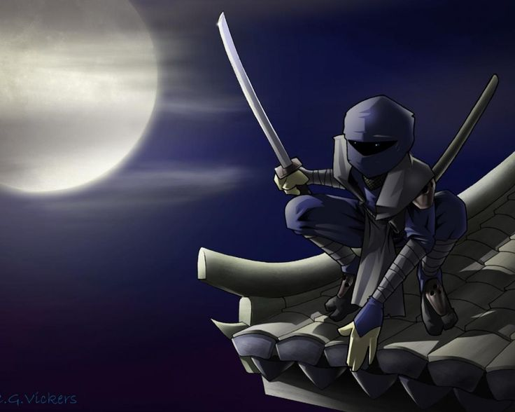38 best images about ninja on pinterest swords - Ninja anime wallpaper ...
