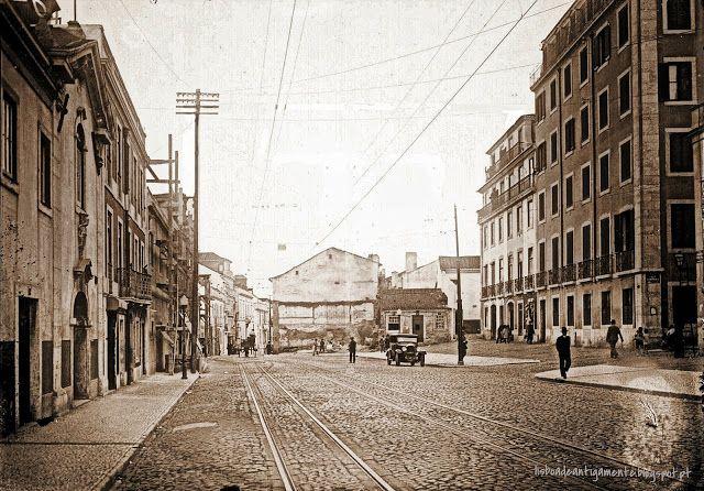 Rua Gomes Freire, início séc XX