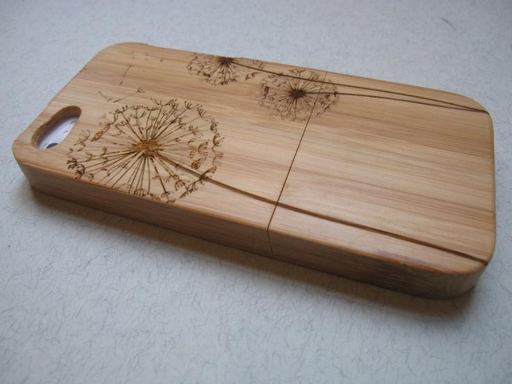 Cas iPhone 5 - bambou, cerisier, bambou