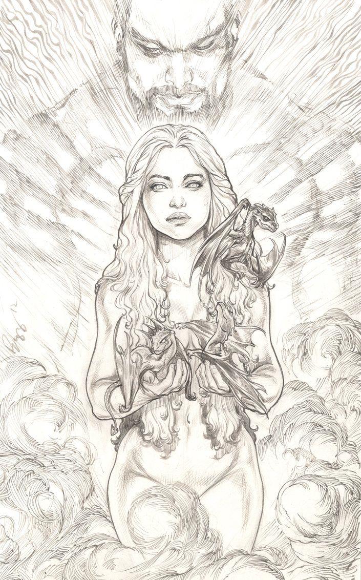 daenerys targaryen khaleesi by justbuzz on deviantart
