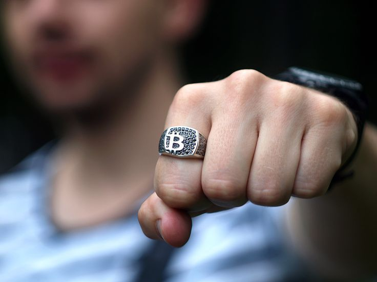 Feedback. Bitcoin ring. #bitcoin #crypto #jewelry #jewellery