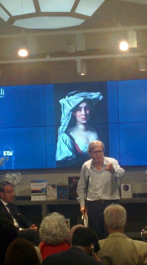 Vittorio Sgarbi e l'arte della Basilicata a Libreria Rizzoli Milano