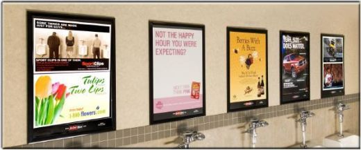 7 Best Images About Restroom Advertising On Pinterest