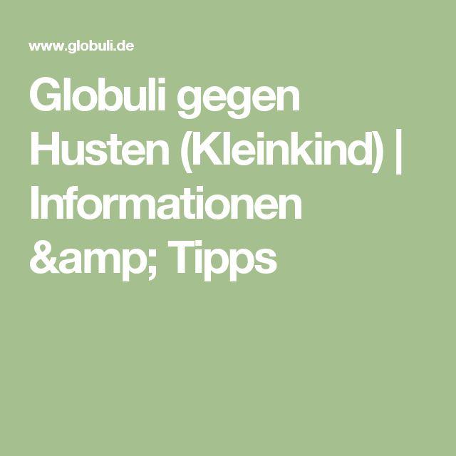 Globuli gegen Husten (Kleinkind) | Informationen & Tipps