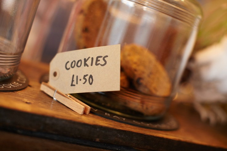 Mmm, cookies... At Out of the Woods