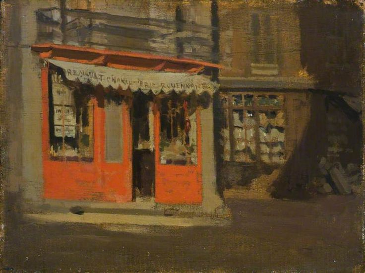 The Red Shop (The October Sun)	c.1888 Walter Richard Sickert (1860–1942)