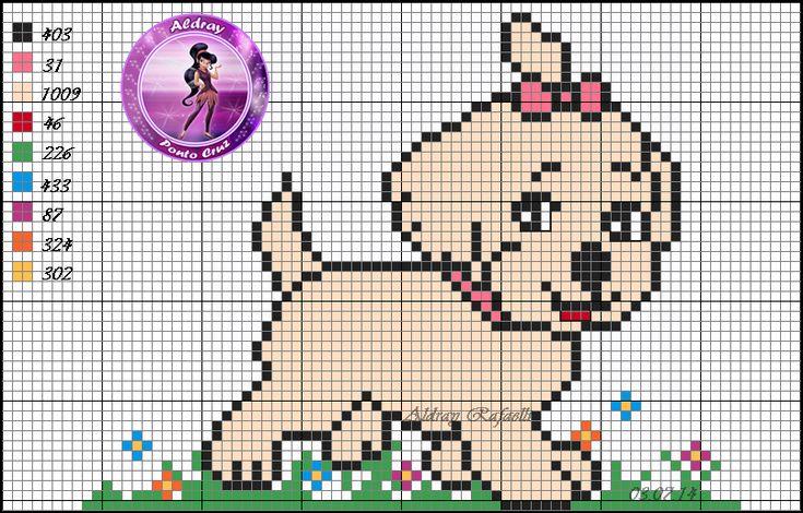 Puppy pattern by Aldray Ferreira