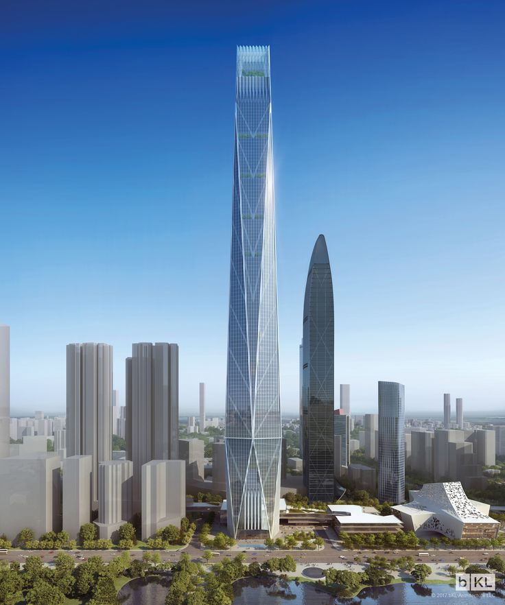 shenzhen tower the skyscraper center