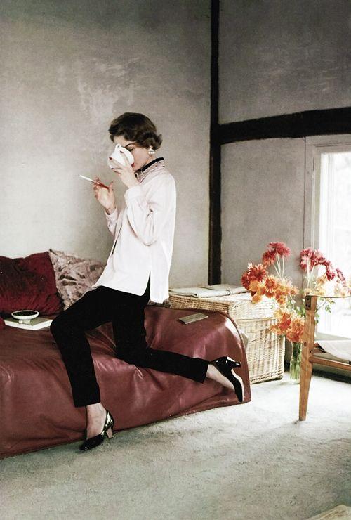 Vintage Inspiration // Vogue / 1953