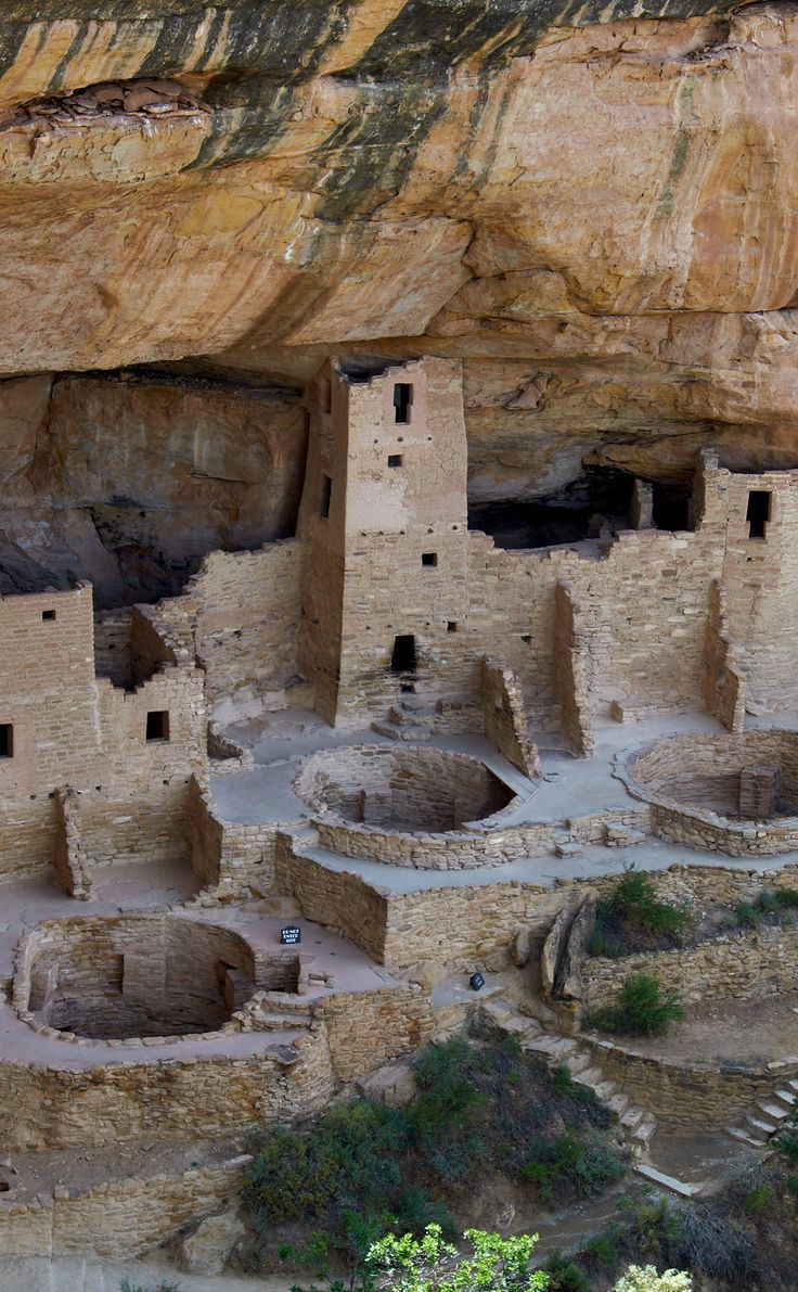 Square Tower House Ruin. Mesa Verde National Park is a U.S. National Park and UNESCO World Heritage Site located in Montezuma County, Colorado, United States.