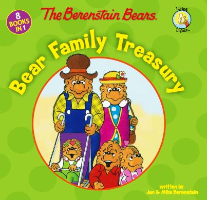 BLACK FRIDAY SPECIAL exclusively at Walmart for $5 – The Berenstain Bears: Bear Family Treasury includes 8 stories from the Living Lights series published by Zonderkidz: Easter Story, Give Thanks, God Bless Our Home, Get Involved, Jobs around Town, Joy of Giving, Love Their Neighbors, and Play a Good Game.