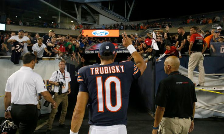 Bears may want to rethink plan for how to use Mitch Trubisky = For their first high-leverage situation of the preseason Thursday night, the Chicago Bears handed the keys to their offense to rookie quarterback Mitch Trubisky. Based on the way he drove them https://www.fanprint.com/licenses/minnesota-vikings?ref=5750