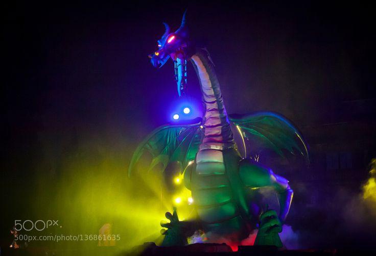 Popular on 500px : Fantasmic Dragon by lbellamy