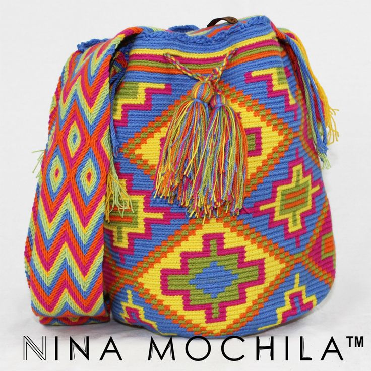 VIDA Statement Bag - Wayuu Inspired Bag by VIDA
