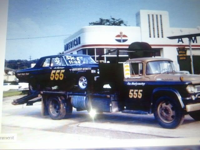 Vintage Drag Race Car Hauler This Is The Way We Did It For Years