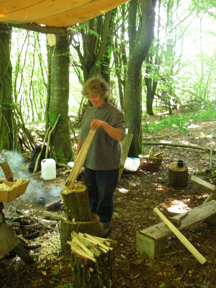 Cornish Woodland Workshop: Our first green woodworking course