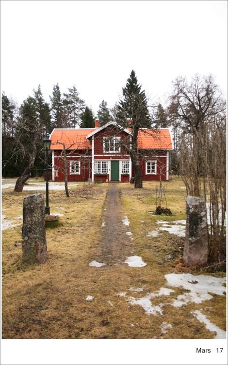 Love this Scandanavian barn style house in Uppsala