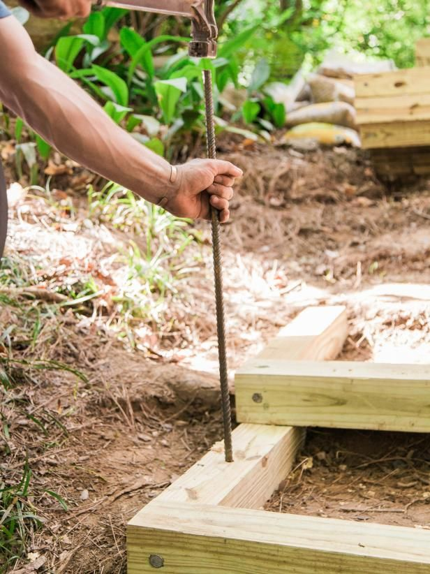 How To Build Outdoor Wood Steps In 2019 Diy Landscaping