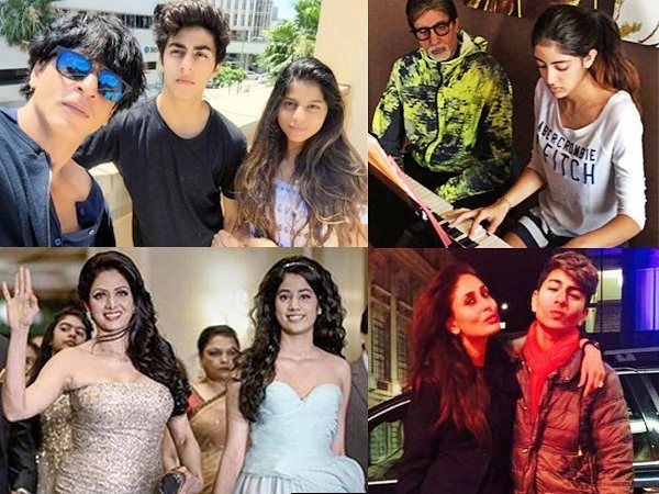 Aryan Khan Navya Naveli Nanda Jhanvi Kapoor Ibrahim Khan... Theyre famous yes. For? Ummm being kids of famous people. Well seems legit. Meet these insta-famous star kids who might have a few hundred followers on their private accounts but guess what? They have numerous fan pages dedicated to them. Theyre already touted as the future superstars of tinsel town. Lets decode their Instgram presence (private and public) shall we?  To read our full story head to www.filmfare.com (link in bio) by…