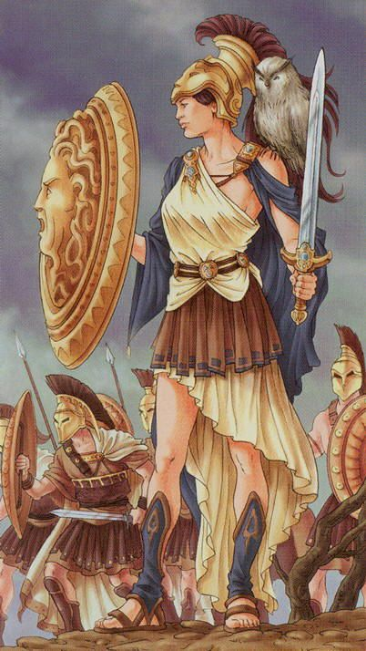 IV - L'empereur - Tarot déesse universelle par Antonella Platano & Maria Caratti