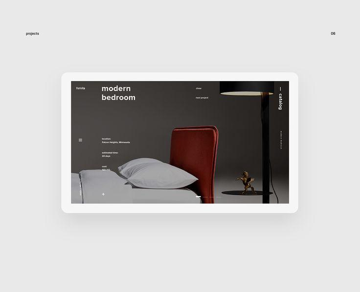 furnita — web on Behance