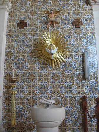 Pia Baptismal da Igreja Matriz do Troviscal, Oliveira do Bairro, Aveiro, Portugal