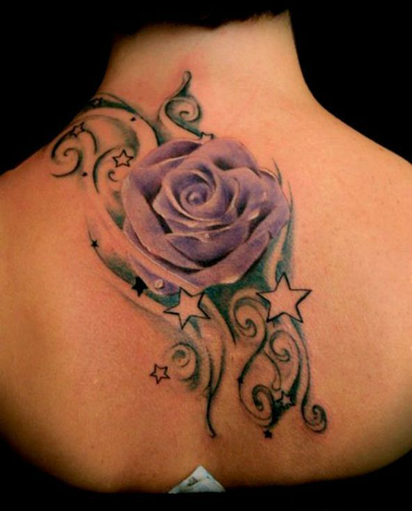 Best 10+ Purple Rose Tattoos Ideas On Pinterest