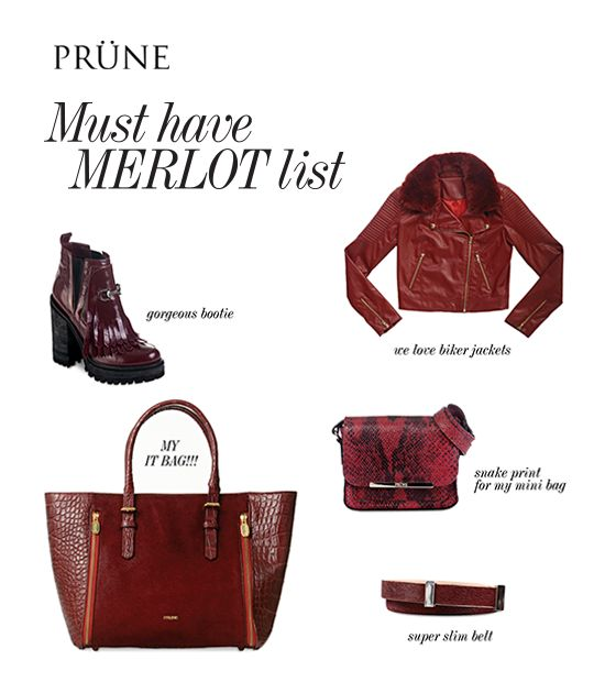 Merlot List by Prüne