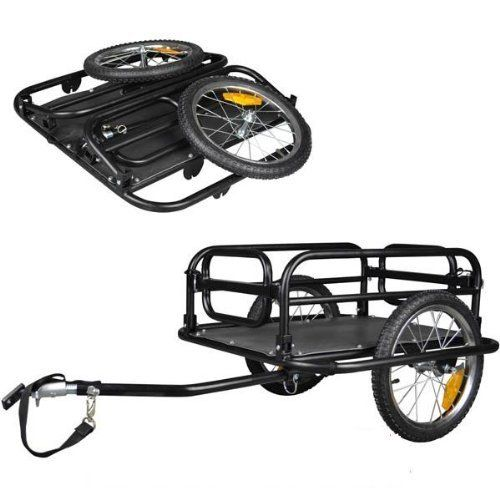 Veelar Foldable Bicycle Cargo Trailer Shopping/Utility Trailer-20300  #Bicycle #cargo #Foldable #Shopping/Utility #Trailer #Trailer20300 #Veelar CyclingDuds.com