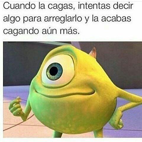 Síguenos para mas memes en español y a nuestra pagina de facebook. Mc Momos. #…