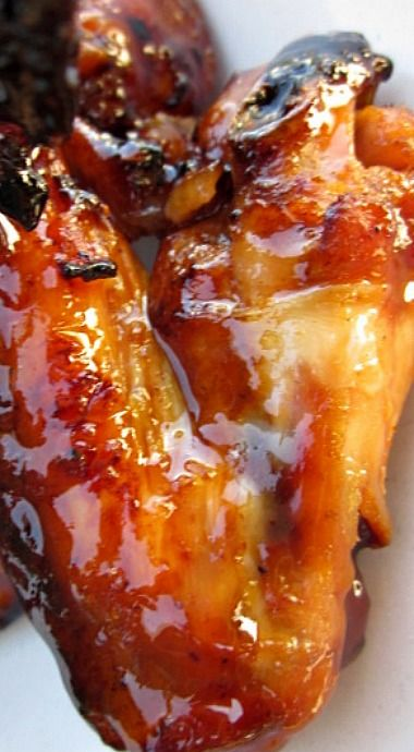 Sweet Spicy Sticky Fingerlickin Chicken Wings