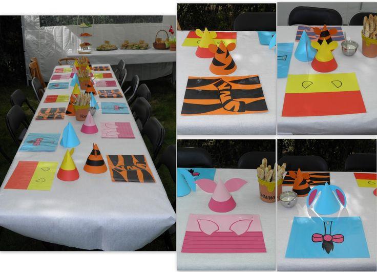 Peter Plys, Winnie the Pooh, fødselsdag, birthday, temafest, themeparty