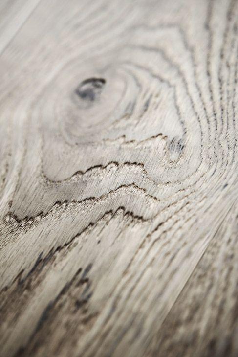 Junckers Driftwood Grey Oak with a textured finish #junckers #woodflooring #solidhardwood #woodenfloors #grey #gray #greyfloor