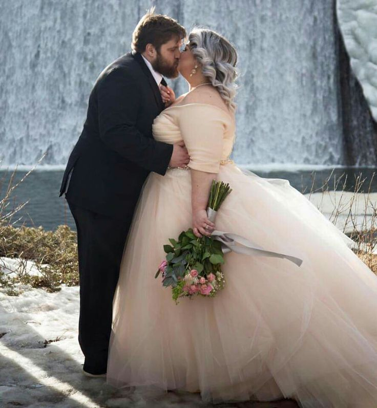 Cute plus size wedding dress                                                                                                                                                                                 More #plussizeweddingdresses