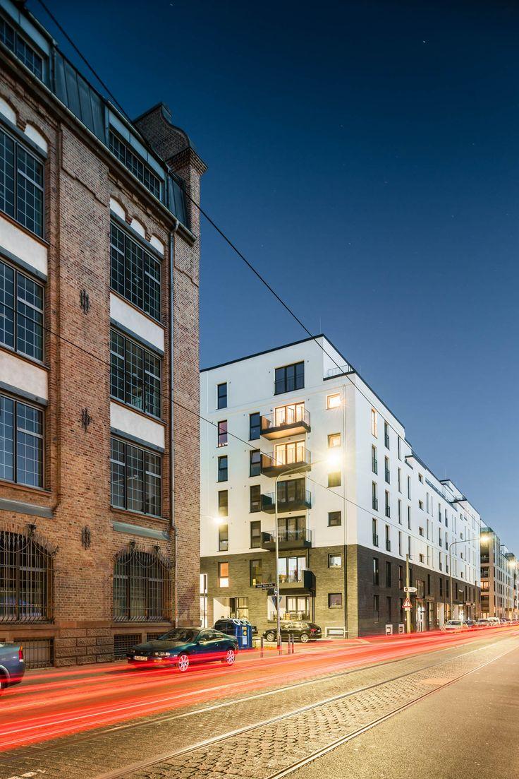 Harry's Lofts & Haouses in den Adler Quartieren in Frankfurt-Gallus | Entwurf: RKW | Ausführungsplanung: KZA | Foto: PDI Property Development Investors GmbH / Christoph Pforr