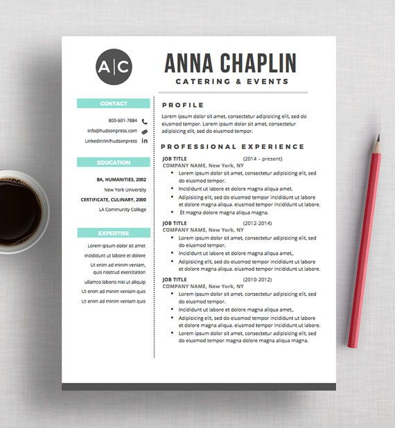 19 best Resume Design images on Pinterest Resume design, Design - free word letterhead template